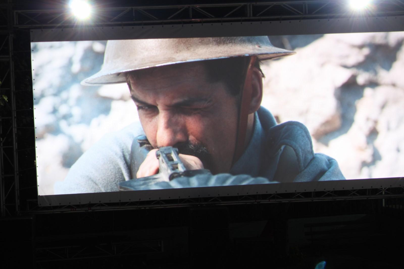 Sessão de cinema ao ar livre em Mangualde